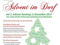 So 03.12. Advent im Dorf